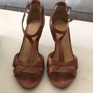 Brown Nine West Sandals